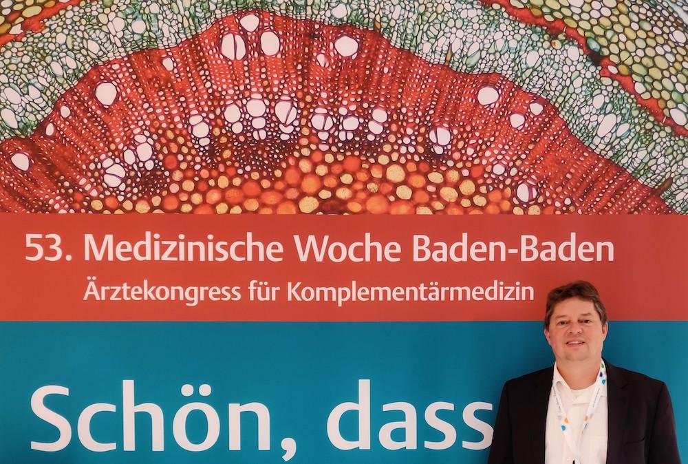 Michael Denck auf der 53. Medizinischen Woche in Baden-Baden